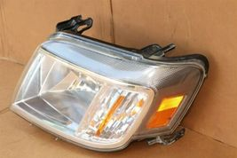08-11 Mercury Mariner Headlight Head Light Lamp Driver Left LH POLISHED image 3