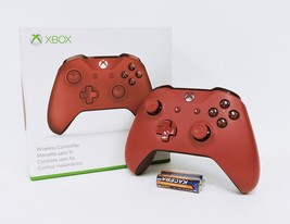 Microsoft Xbox One S Wireless Controller - Red WL3-00027 - $36.99
