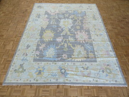 10'3 x 14 Hand Knotted Gray Modern Oushak Oriental Rug G11352 - $3,307.86