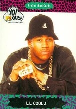 L.L. Cool J trading Card (Rapper) 1991 Proset MusiCards #50 - $4.00