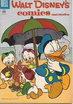 Walt Disney's Comics and Stories Comic Book #201, Dell Comics 1957 VERY ... - $12.59
