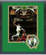 Terry Rozier 2018 Boston Celtics Action - 11x14 Team Logo Matted/Framed ... - $42.95