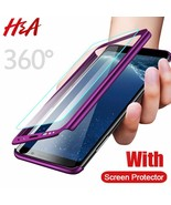 Full Cover Phone Case For Samsung Galaxy S9 S8 Plus S7 S6 Edge Screen Pr... - $5.75+
