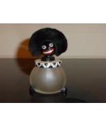 VINTAGE 1920s Vigny Verreries Brosse Empty Perfume Bottle with Fur Hair ... - $119.00