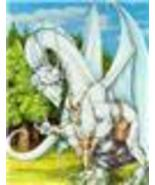 WHITE CRYsTAL ICE DRAGON  almighty  QUEEN  POWER 4478 years old Celtic All power - $34.99