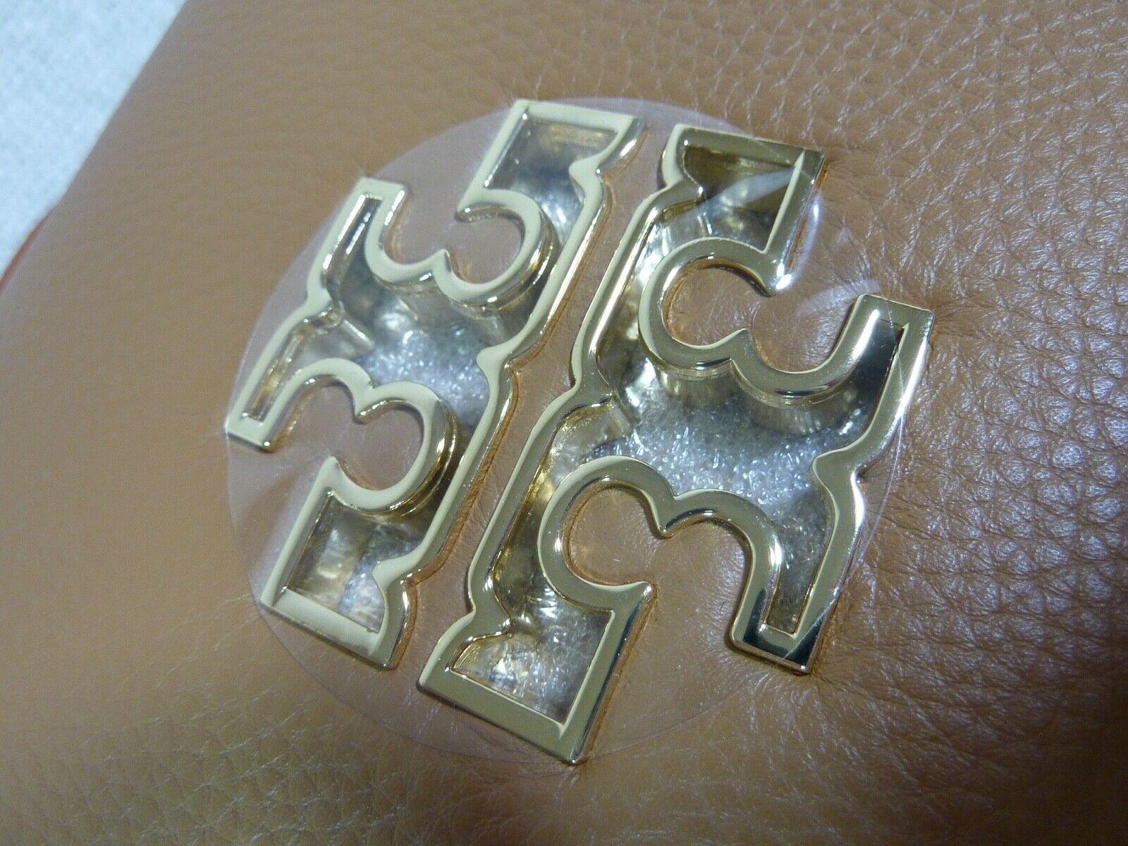 NWT Tory Burch Bark Leather Britten Combo Cross Body bag/Clutch  - $425 image 8