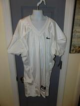White Football Jersey Youth Blank Nike Vapor Mesh Size XL Boy's NEW - $36.00