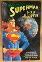 1991 Superman For Earth TPB Stern Gammill Janke McGraw DC Comics - $14.69