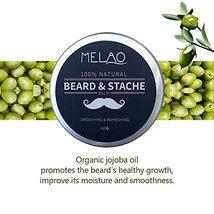 Beard Balm Softener Cream & Growth Conditioner & Leave In Conditioner & Moisturi image 6