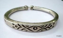 vintage antique tribal old sterling silver Armlet bracelet bangle cuff s... - $494.01