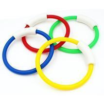 4Pcs/Set Child Swimming Pool Dive Grab Ring Water Game Training Playing ... - $18.99