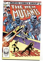 The New Mutants #2 comic book  1983- Marvel High Grade - $20.18
