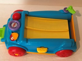 Fisher Price Roller Blocks Rockin Wagon Only Handle Stores Underneath - $16.99