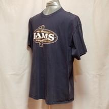 St. Louis Rams NFL Football Mens Size XL Blue Short Sleeve T Shirt image 2