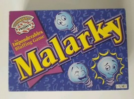 Vintage RARE Board Game Malarky Bluffing Game 1998 Patch - $20.57