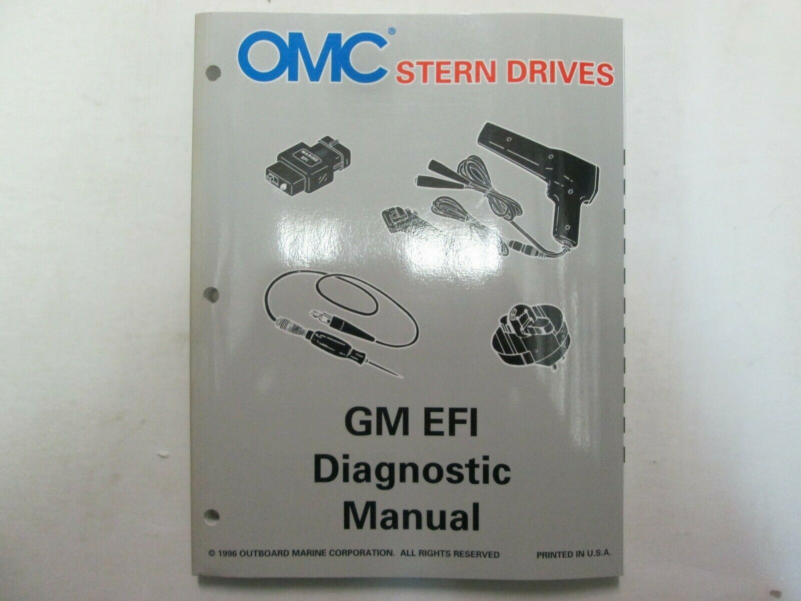 Primary image for 1997 Omc Stern Drives GM Efi Diagnose Manuell P/n 507285 Fabrik OEM ***