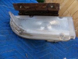 1968 Thunderbird Front Right Marker Signal Light Cracked Oem Used Original Ford - $88.36