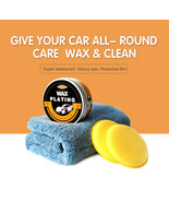 AutoCare Car Wax Crystal Plating for Super Hard Glossy Waterproof/UV Pro... - $29.95