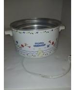 Rival Slow Cooker/Crockpot White/Blue 4 QT Model 3154 Heating Element - $14.85