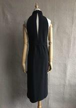 100% AUTHENTIC LOEWE LONG BLACK SLEEVELESS EVENING DRESS  image 2