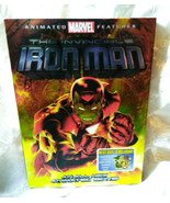 Invincible Iron Man DVD, 2007 Includes Set of unopened Trading Cards and... - $9.47