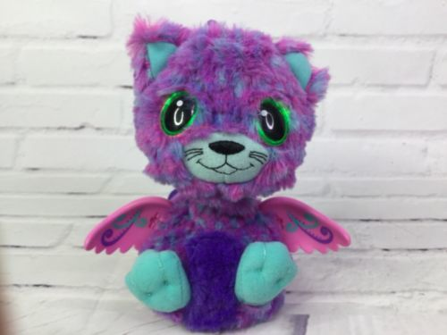 Hatchimals Interactive Creature Surprise Giraven Hatched 19110 Purple Blue 6in