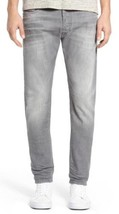 NEW DIESEL MEN'S DESIGNER SLIM CARROT LEG TEPPHAR GRAY JEANS 0853T_STRETCH