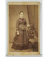 CDV Lovely Victorian Era Woman, SL Miller, Lykens, Daulphin Co Pa Photo ... - $9.95