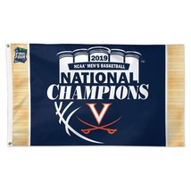Virginia Cavaliers National Champions Deluxe Car Flag, 2019 - $34.00