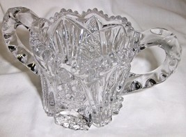 Open Sugar Bowl EAPG Imperial Glass Company #212 Nucut Antique 1909-1925 - $12.87