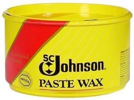 SC Johnson PASTE WAX Fine Wood Furniture Floor Metal Leather Plastic Cor... - $14.99