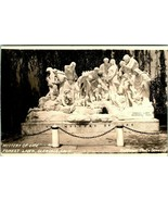 Vtg Postcard 1940 Mystery of Life Statue - Forest Lawn - Glendale, CA  - $9.95