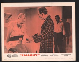 Fall Guy Lobby Card-Ed Dugan, George Mitchell, and Don Alderette. - $28.03