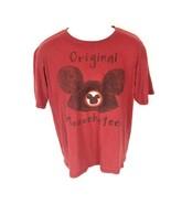 Disney Men's Red Original Mouseketeer T-Shirt M  - $14.84