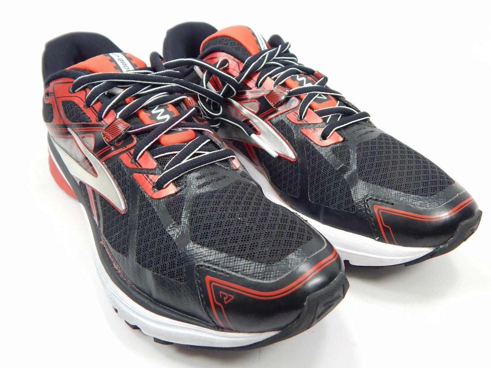 Brooks Ravenna 7 Men's Running Shoes Size US 8 M (D) EU 41 Red Black 1102171D062