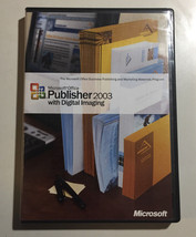 Microsoft Office Publisher 2003 With Digital Imaging Product Key Genuine - $14.84