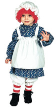 Licensed Raggedy Ann or Raggedy Andy Costume for Toddlers & Kids - $28.01+