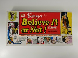 Vintage Rare 1979 Ripley's Believe It or Not! Board Game *New Verified C... - $28.04