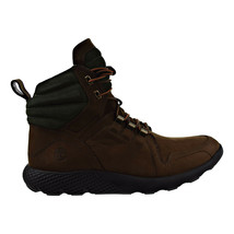 Timberland Flyroam Leather Dark Brown Mens Boots tb0a1lpy - $154.95