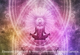Elevated Emotions & Heart Coherence Remote Service  - $55.00