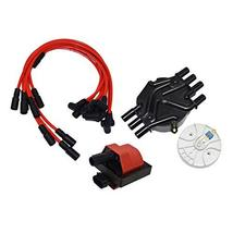A-Team Performance Distributor Cap, Rotor, Remote Ignition Coil Tune Up Kit, & 8 image 2