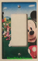Mickey Mouse House Club Light Switch Duplex Outlet wall Cover Plate Home decor image 4
