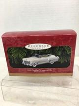 1999 1949 Cadillac Coupe deVille Hallmark Christmas Tree Ornament MIB w ... - $28.22