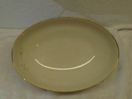 "Noritake Ivory China Nora 9"" Oval Vegetable Serving Bowl 7546 Japan Repl... - $17.81"