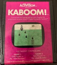ATARI 2600 Kaboom! Activision tested video game cartridge requires paddles  - $3.19
