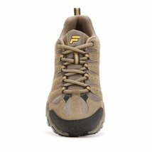 NIB Men's FILA Travail Trail Running Shoes Brown Gold image 2