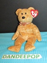 TY Retired Beanie Baby Cashew Bear 2000 With Rare Tags Ty 2000 - $13.85