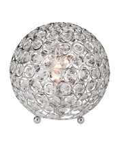 Crystal Ball Table Lamp Bedside Desk Light Modern Bedroom Living Room De... - $46.33