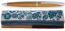 Cross ATX Papaya Yellow Ballpoint Pen Includes Rafe Pouch - $42.98