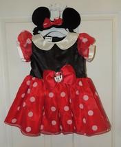 Nuevo Disney Bebé Minnie Mouse Disfraz Talla 6-9 & 12-18 Meses - $16.96